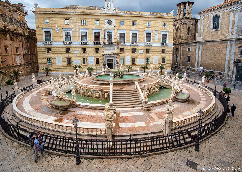 Palermo-fontanna