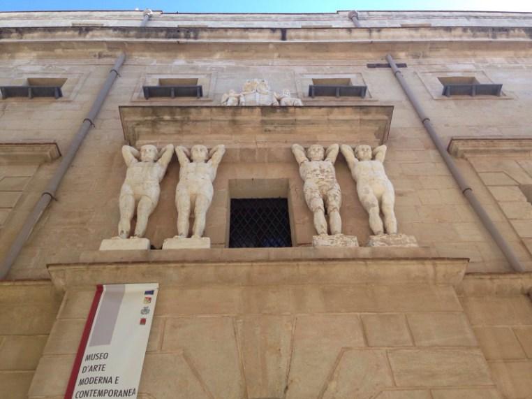 Palazzo della Vicaria i Muzeum Sztuki Nowoczesnej i Współczesnej w Trapani