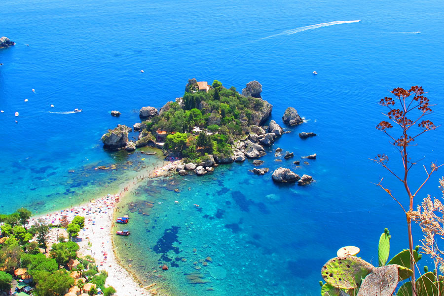 Plaża Isola Bella Taormina