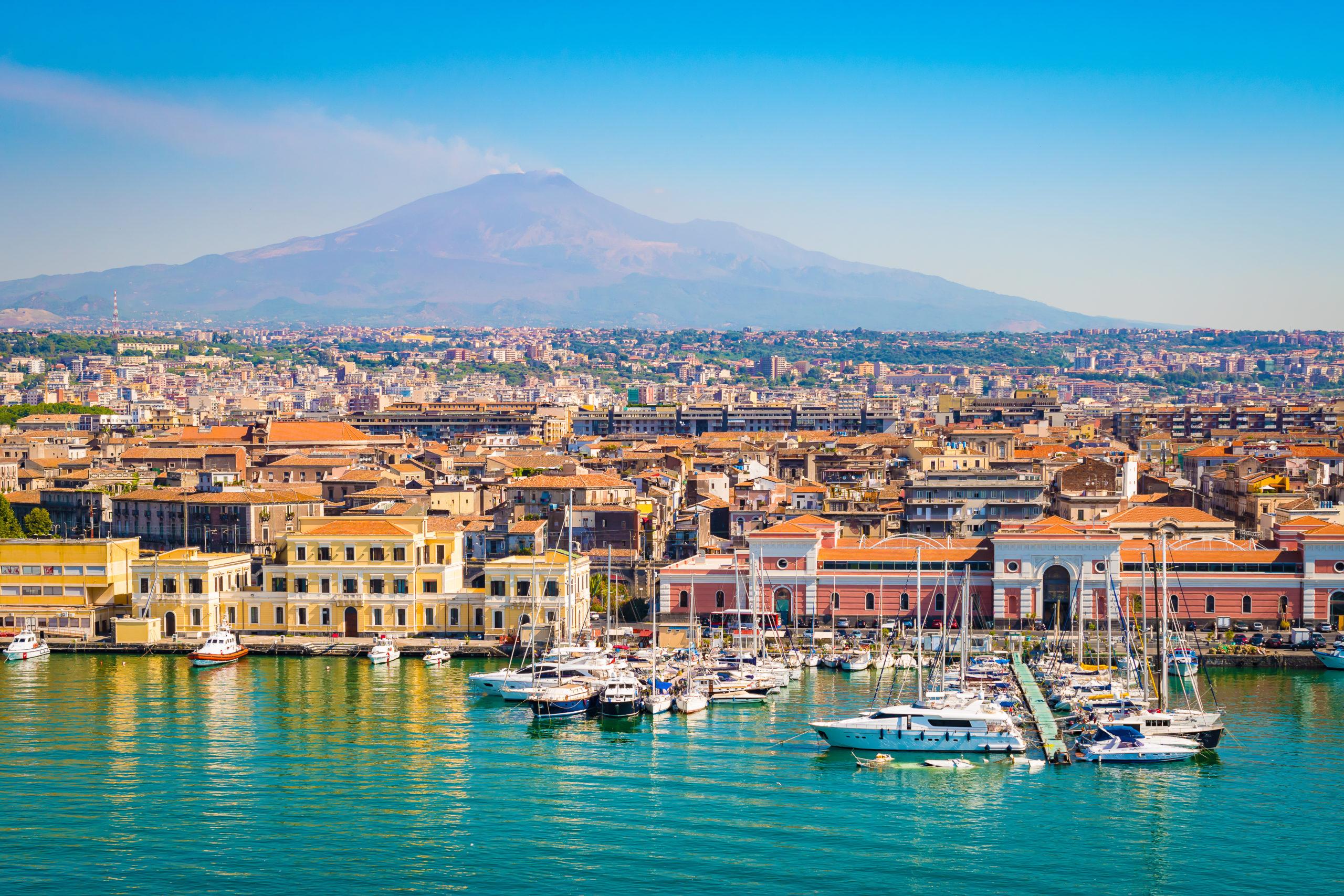Catania Sycylia, Włochy, licencja: shutterstock/By NAPA