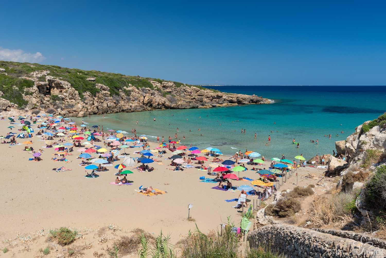 Plaża Calamosche – Noto, Syrakuzy