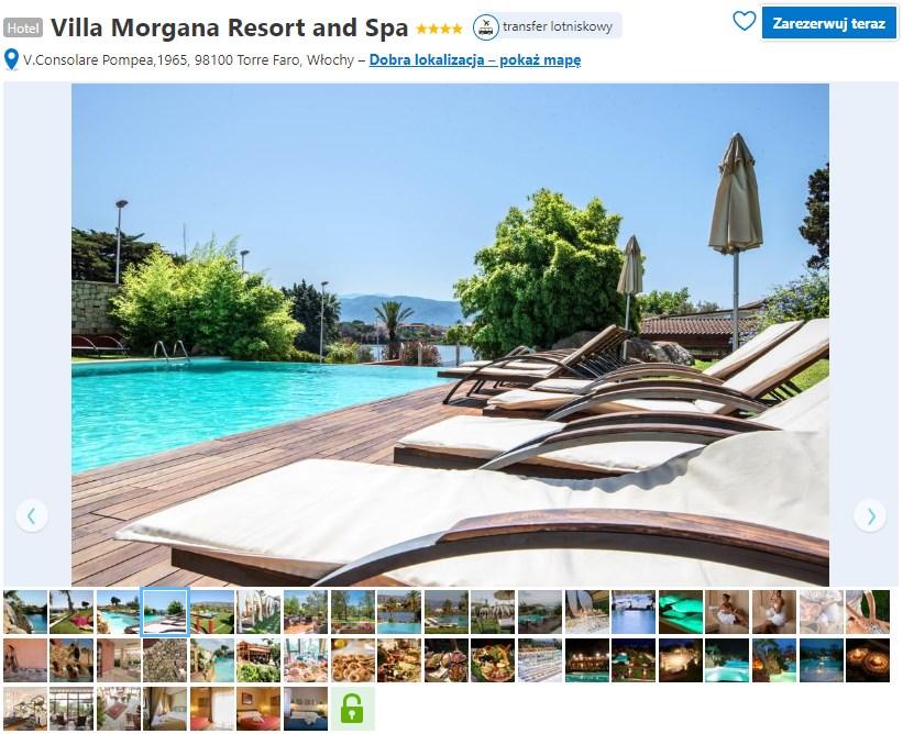 hotel Villa Morgana - Sycylia, Mesyna