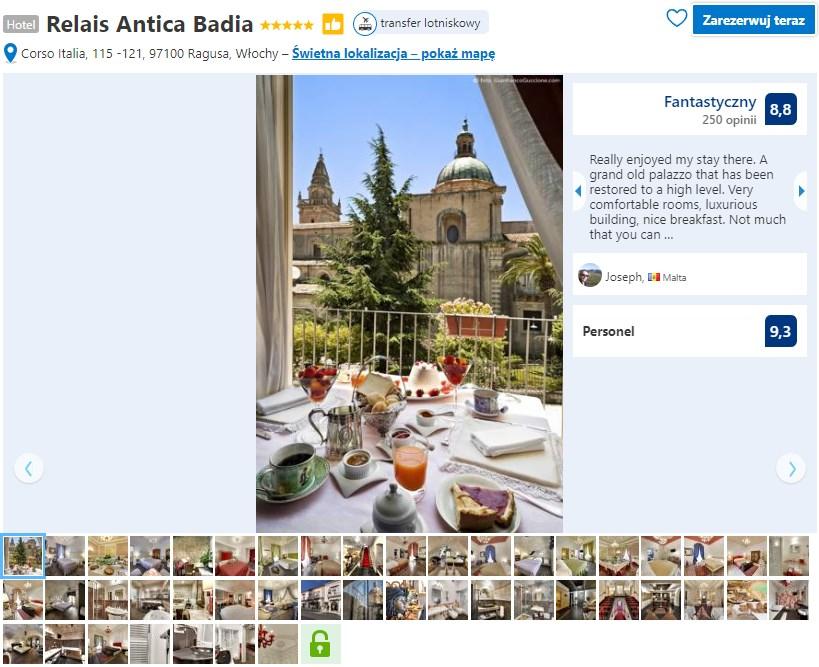 hotel Relais Antica Badia Ragusa