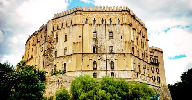 pałac-Normanów-Sycylia-Palermo