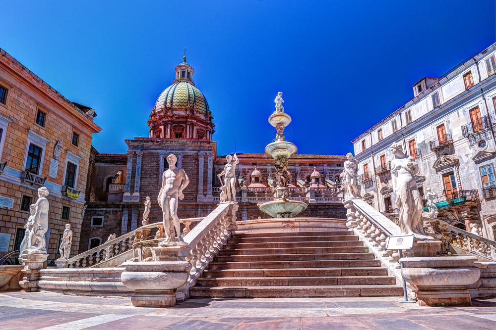 Sycylia Zachodnia Palermo architektura