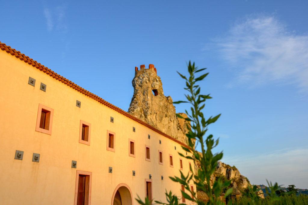 Pietrarossa Castle in Caltanissetta, Sicily