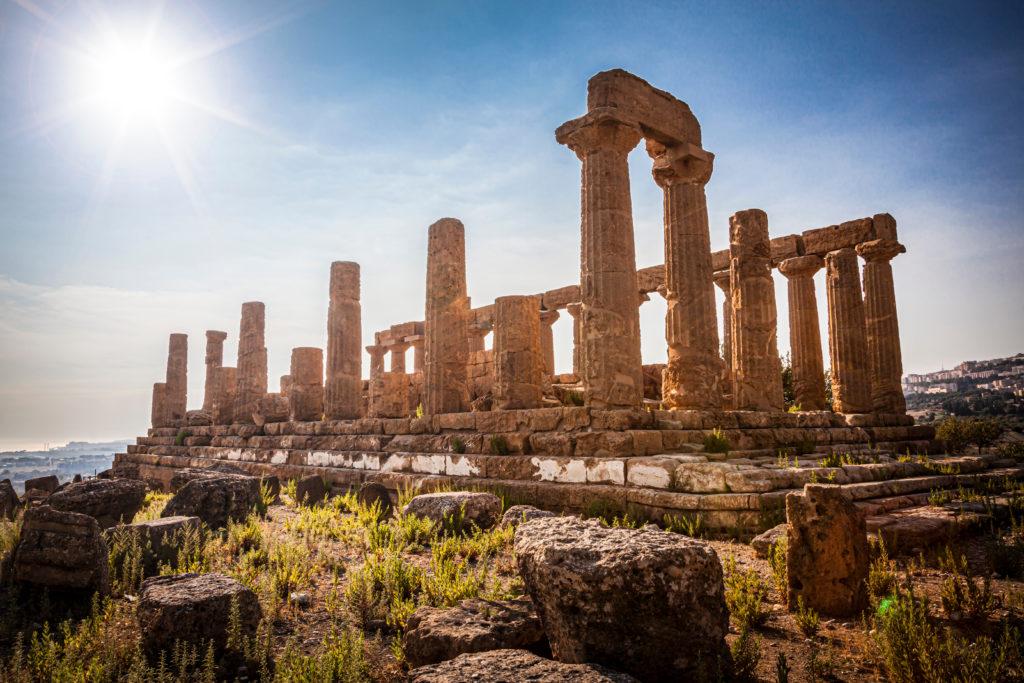 """""""Tempio di Giunone"""" - Valley of the Temples - Agrigento - Sicily"""