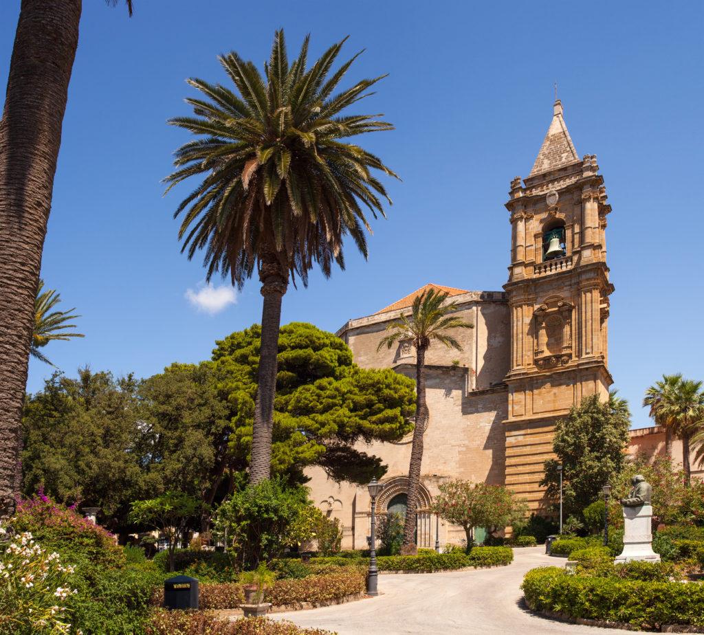 The Basilica-Sanctuary of Maria Santissima Annunziata, called Madonna of Trapani