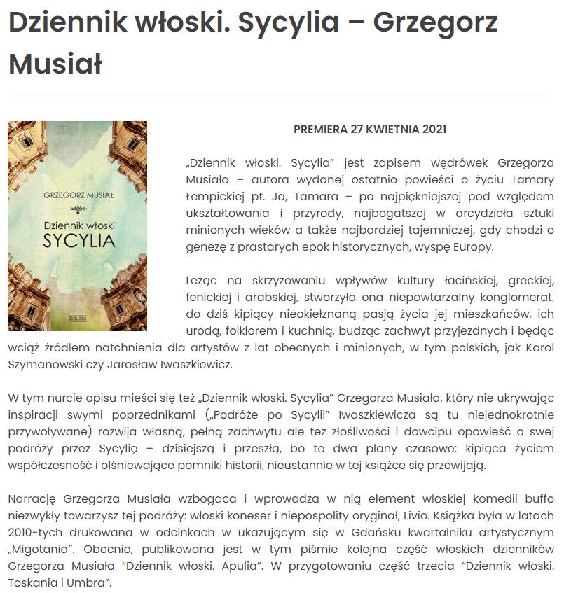 Dziennik Wloski Ksiazka