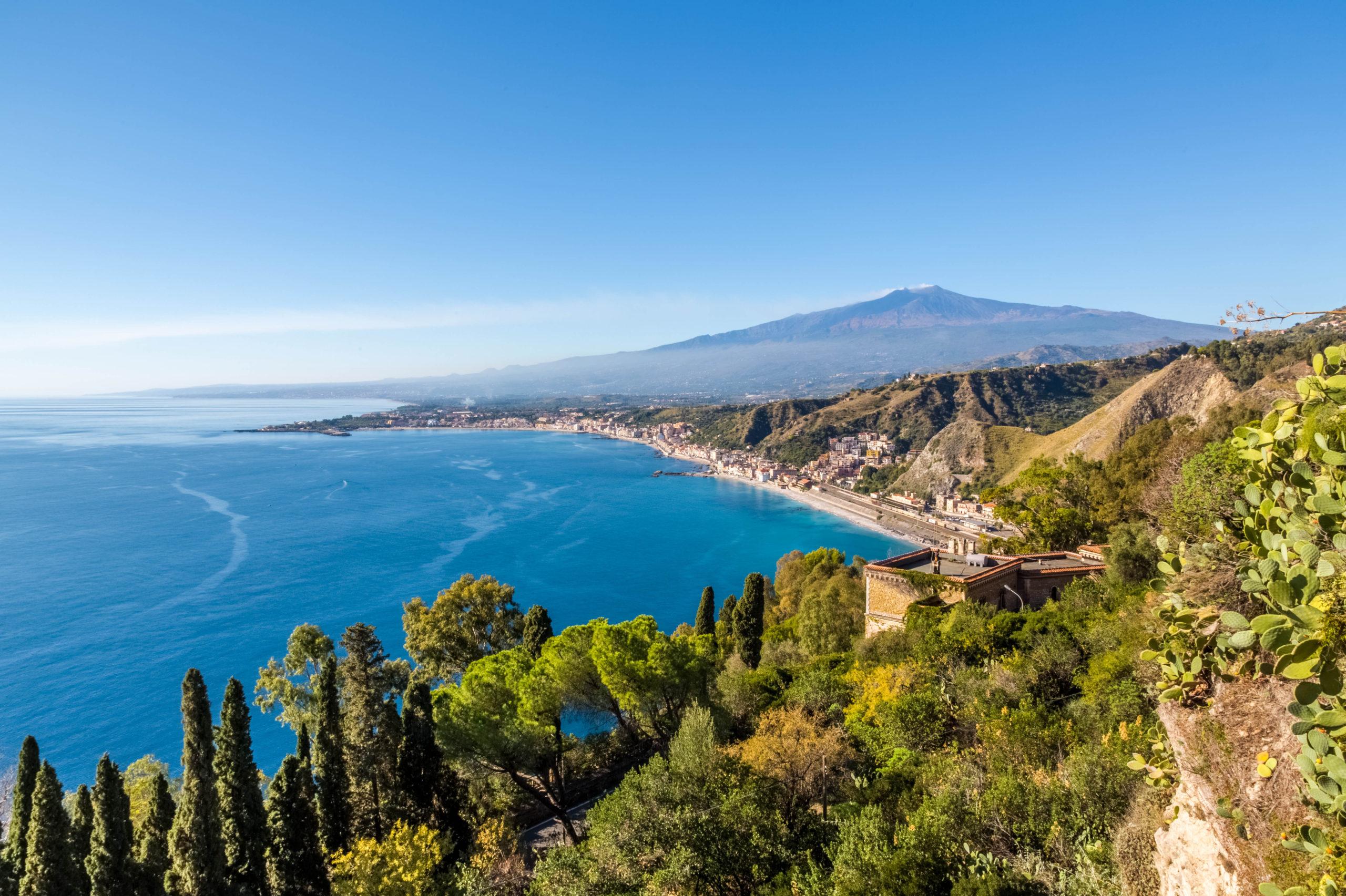 Plaże w Katanii, Włochy